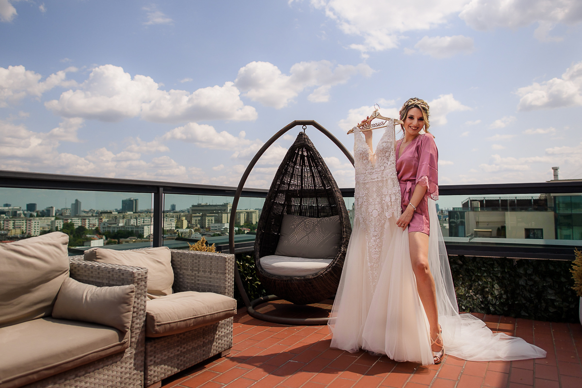 Locatii pregatiri de nunta Bucuresti Penthouse Orhideea