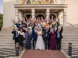 Slujba religioasa nunta Simona si Costi