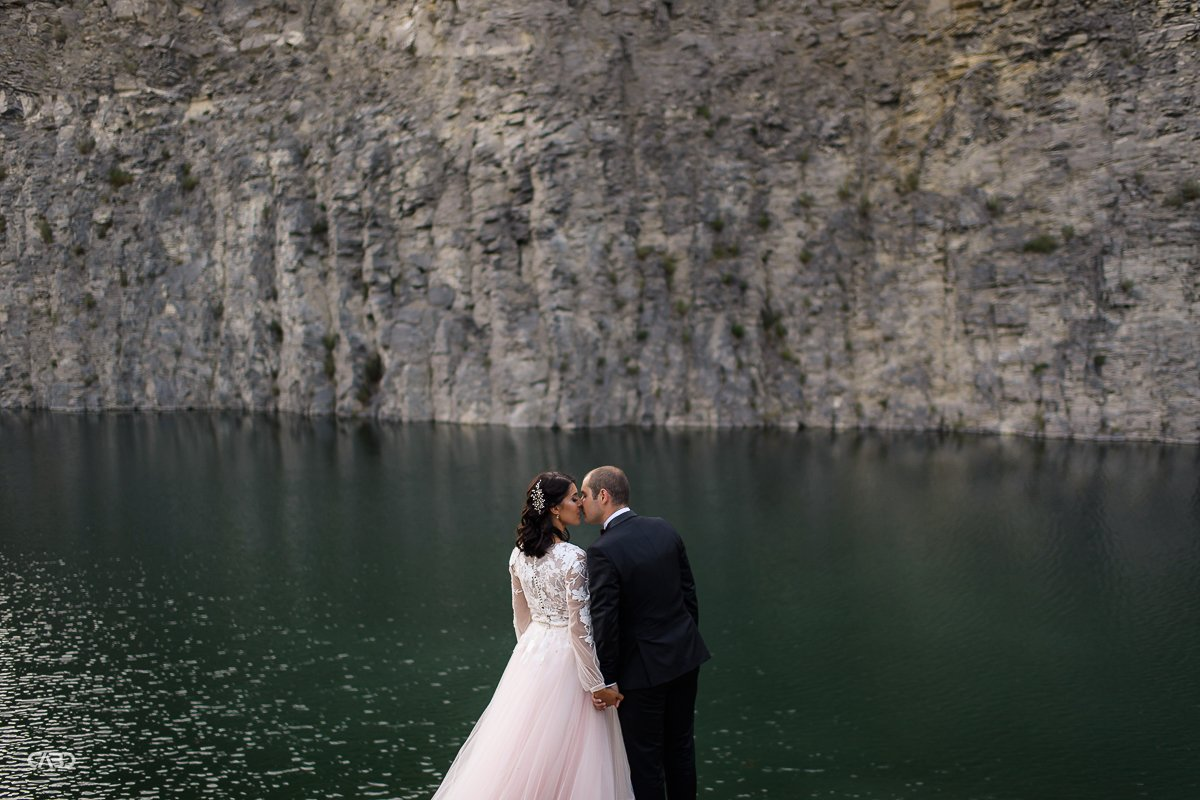 Lacul de Smarald Trash the dress Felicia si Vali