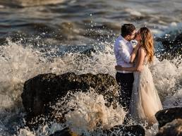 Plaja Vadu Trash the dress Andreea si Ioan