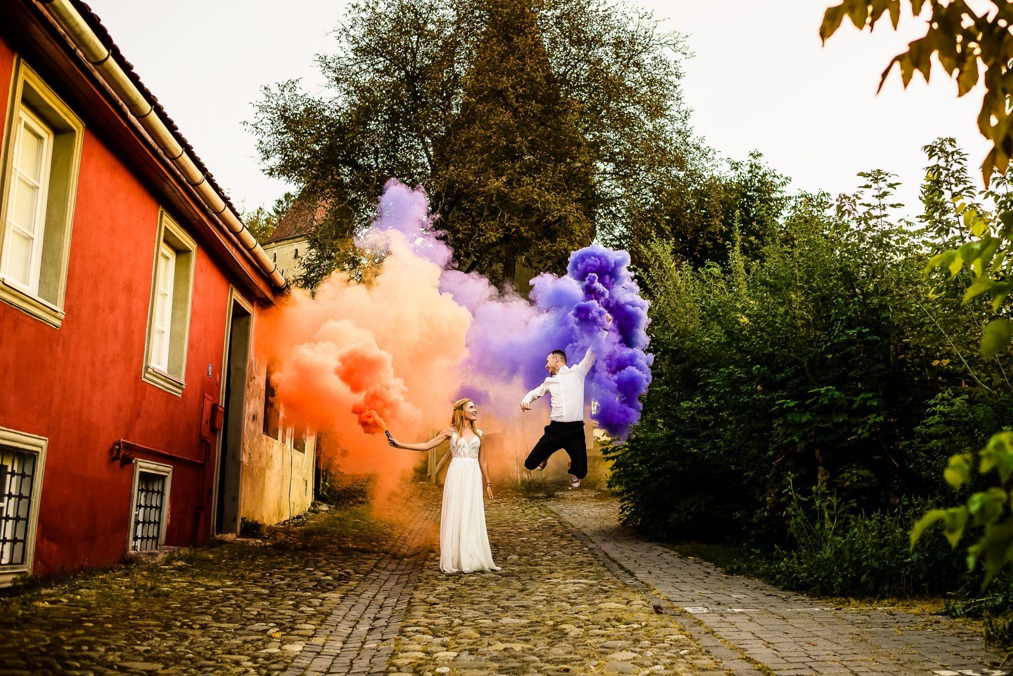fotograf nunta trash the dress Sighisoara