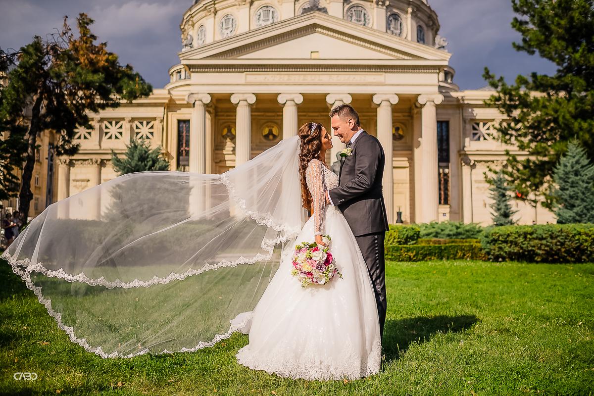 Fotograf nunta Sedinta foto Ateneul Roman