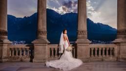 Rochia de mireasa nunta Castel Cantacuzino