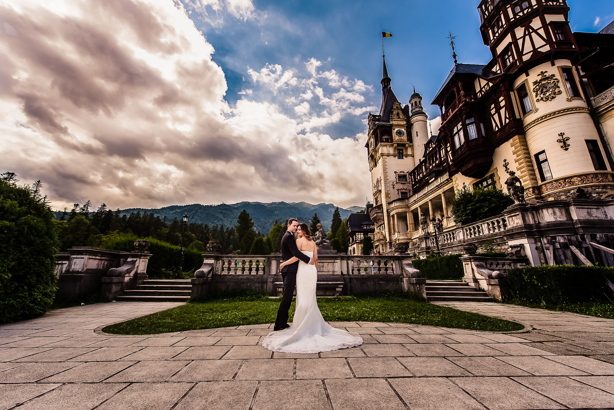 Fotograf nunta Trash the dress Castelul Peles
