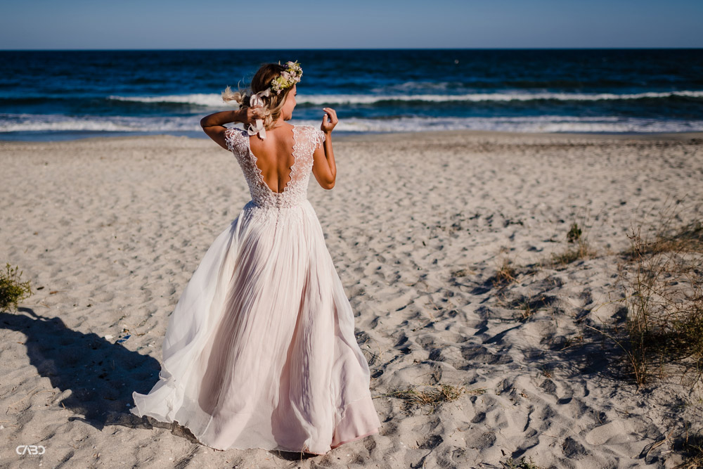 Rochie de mireasa plaja Vadu