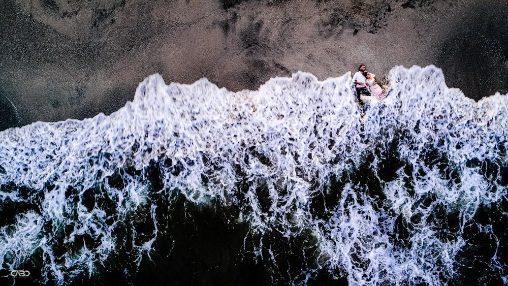 Trash the dress la mare drona plaja Vadu