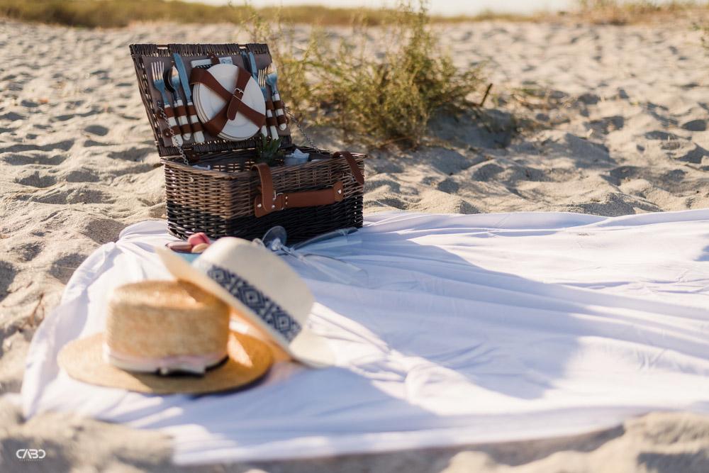 Cos de picnic plaja Vadu